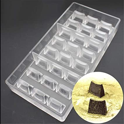 1pc 3D Chocolate Molds Tray Chocolate Mould Plastic Baking Mold Bakery Cake T YK