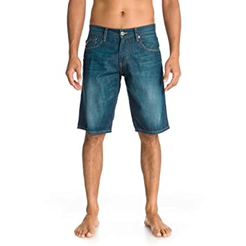 Quiksilver Sequel-Pantalones vaqueros azul Talla:28: Amazon ...