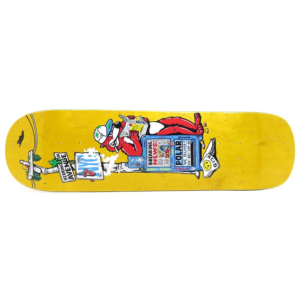 【限定特価】 POLAR DECK BREAKING スケートボード ポーラー デッキ AARON HERRINGTON B07R4HYPL7 BREAKING NEWS YELLOW STAIN P8 SHAPE 8.8 スケートボード スケボー SKATEBOARD B07R4HYPL7, シベツシ:e855a9ee --- domaska.lt