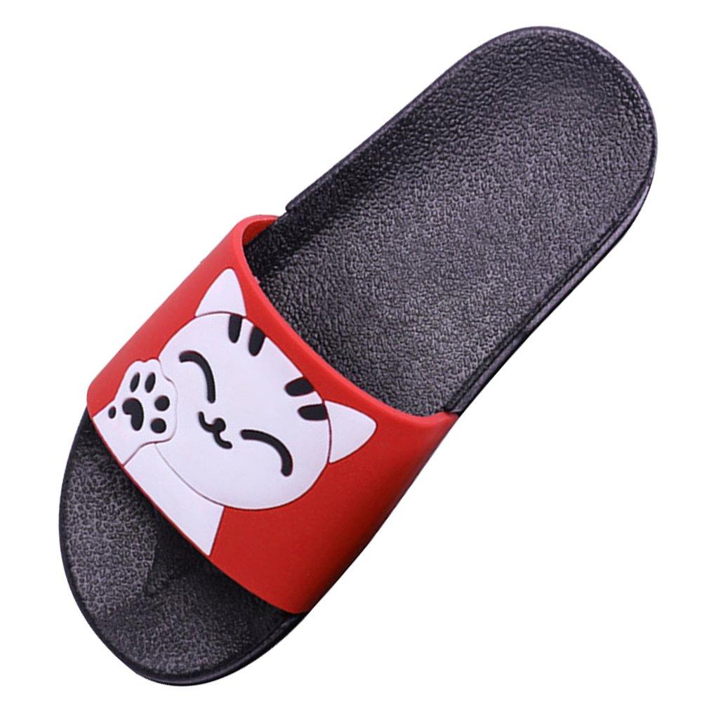 Maybolury Girls Boys Cute Anti-Slip Slide Sandals,Kids Shower Poolside Beach Sandals Indoor Outdoor Slip On Home Slippers