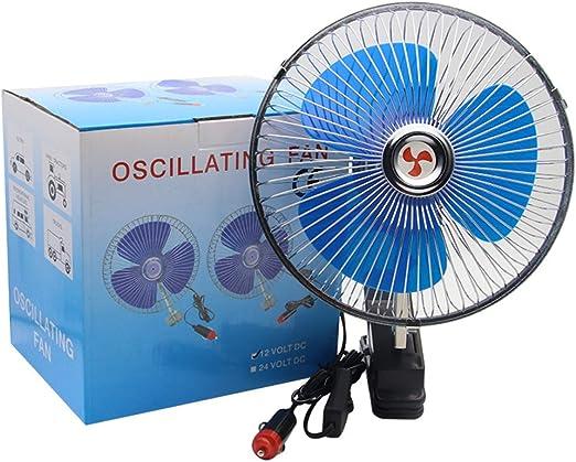 Fan del Coche de 8 Pulgadas, Coche 12v / 24v Universal Ventilador ...