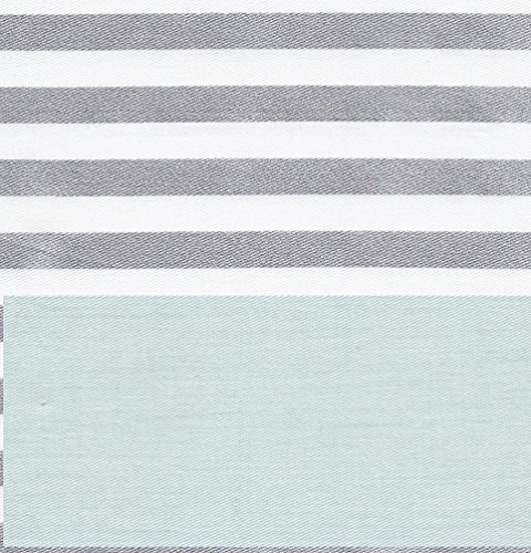 CARO Home Fabric Shower Curtain