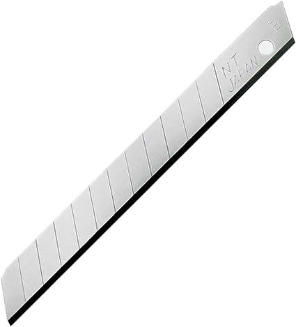 NT Cutter 9mm Snap-Off Blades, 50-Blade/Pack, 1 Pack (BA-50P): Amazon.es: Oficina y papelería