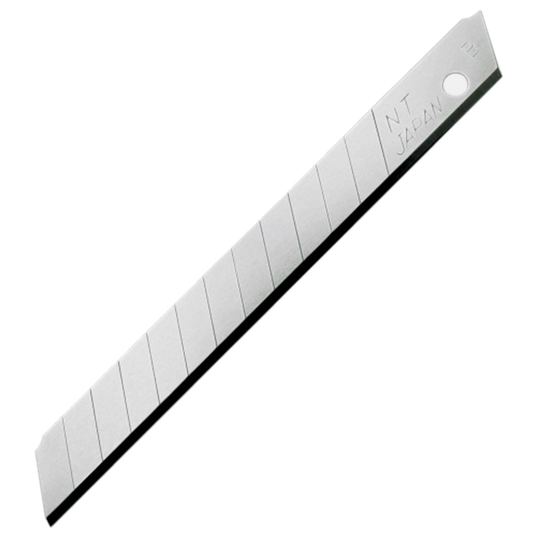 NT Cutter 9mm Snap-Off Blades, 50-Blade/Pack, 1 Pack (BA-50P)