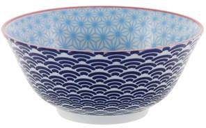 Tokyo Design Studio Starwave Bowl - Light Blue/Dark Blue at Amara