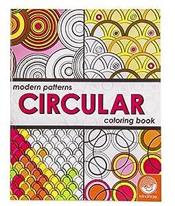 modern patterns circular coloring book - Modern Patterns Coloring Book