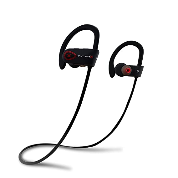 RythmiX Live 2.0 Wireless Bluetooth Earbuds, Ergonomic Design, Waterproof, Noise Cancelling and Deep