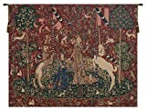 Taste Lady and Unicorn Belgian Tapestry