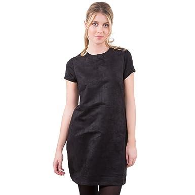 Femme Vêtements Droite Suédine Noir Robe Xl Mim YZFgtwqg