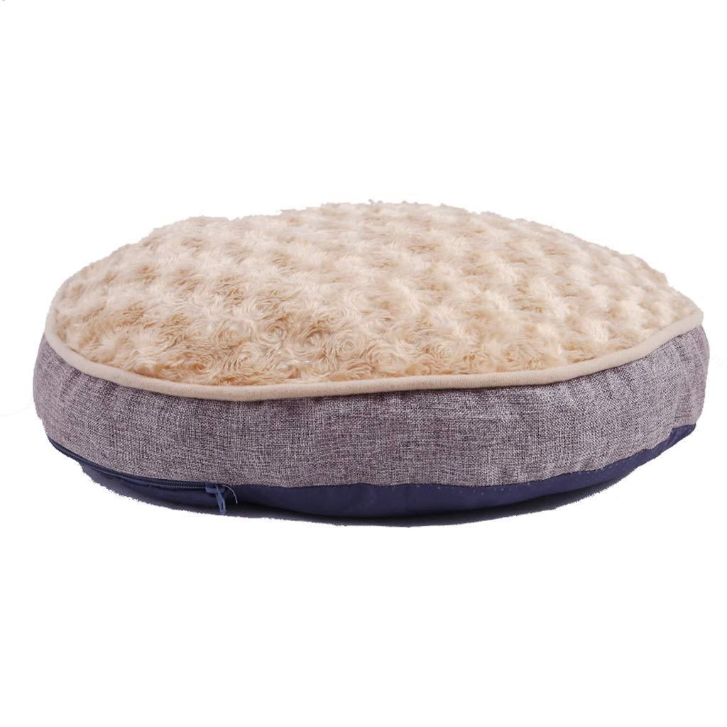 50×50×7cm pet bed Pet Mat, Kennel Large Dog Cat Nest Removable Wash Pet Supplies Mat (Size   50×50×7cm)