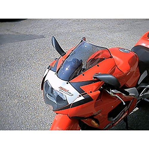 Windshield Mra Spoilerscreen (MRA SpoilerScreen Windshield for Aprilia RSV1000R Mille, 01'-03' (SMOKE GRAY))