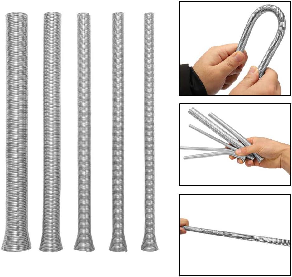 Roeam 5pcs tubo a molla connettore tubi/per frigorifero con aria condizionata,Strumento idroelettrico 1//45//16 3//81//2 5//8