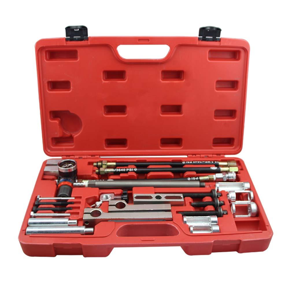 UTOOL Cylinder Head Service Valve Spring Compressor Stem Seal Installer Remover Tool Kit for BMW Audi etc. Most Cars