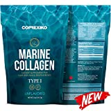 Premium Marine Collagen Peptides – from Wild Caught Fish Skin (Not from Scales) Hydrolyzed Protein Powder for Joints, Skin, Hair, Nails & Digestive Health – Made in Canada, Unflavored
