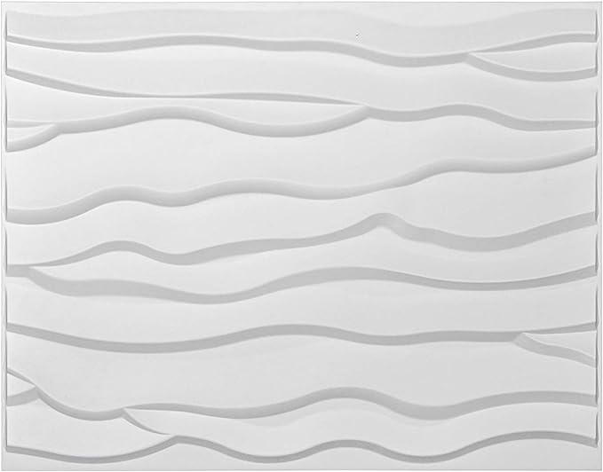 3D Glue on Wall Panel Plant Fiber Material Root Design 1 Box of 32 sqft