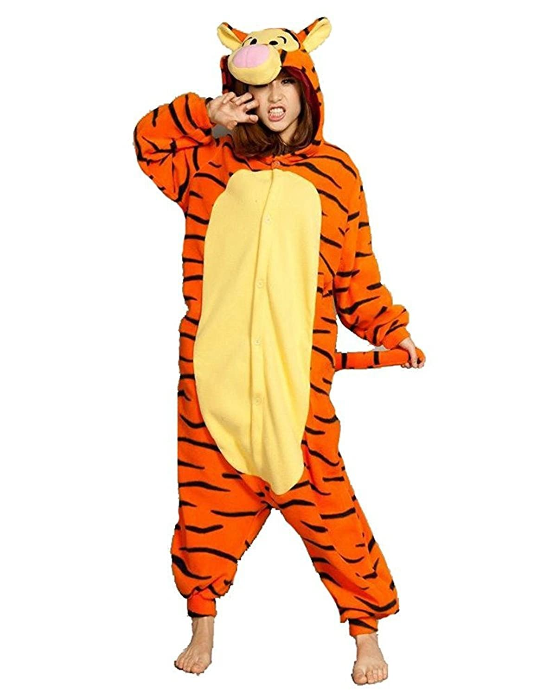Minetom Unisexo Adulto Animal Unicornio Kigurumi Pijamas Anime Ropa De Dormir  Carnaval Cosplay Disfraces Trajes Disfraz 1c2233c36a99