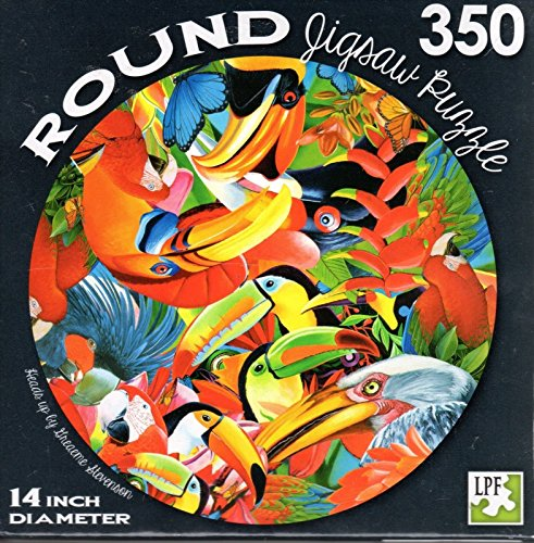 Heads up by Greaeme Stevenson - 350 Piece Round Jigsaw Puzzle