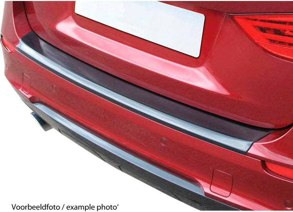 RGM RBP9640R ABS Rear Bumper Protector Volkswagen Caddy//Maxi 2015-Ribbed Carbon Look