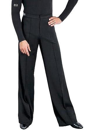 a52846ca47447 Amazon.com: DSI London Mens Gabardine Latin Dance Trousers 4000 (30 ...