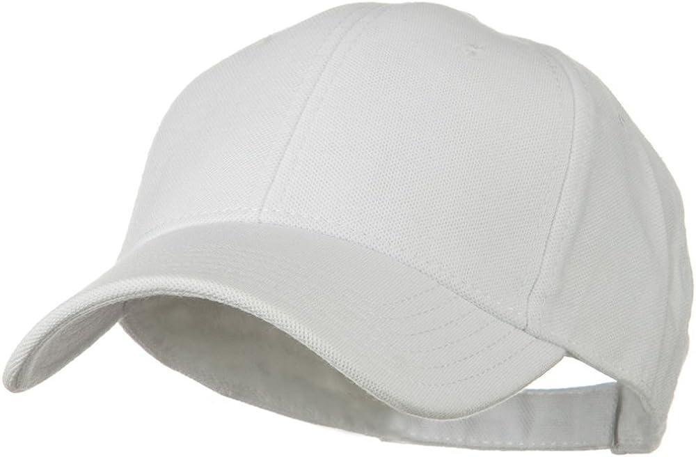 Comfy Cotton Pique Knit Low Profile Cap Kelly