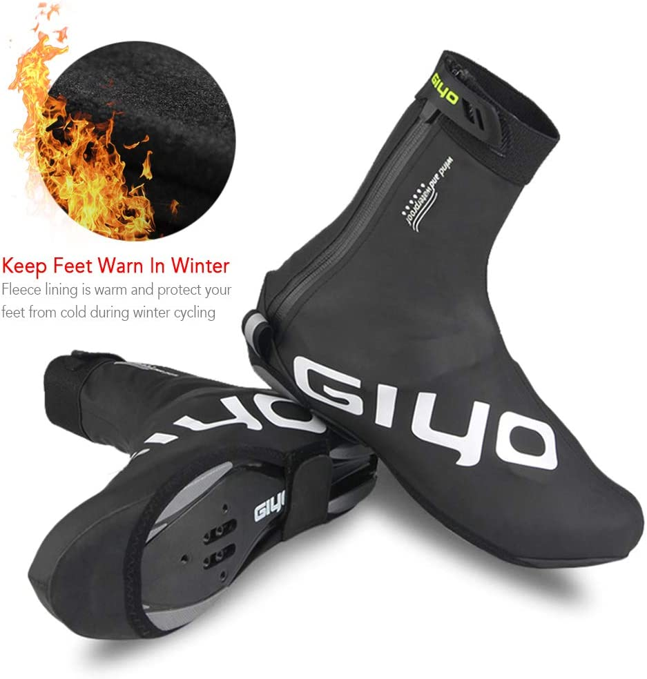 Breathable Mountain Bicycle Lock Shoe Cover Bike Cycling Overshoes Windproof