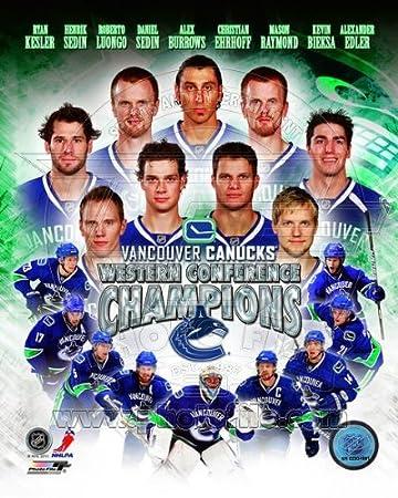 Vancouver Canucks 8x10 Photo AANS027