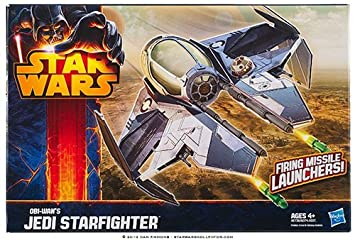 Hasbro Star Wars A5736 Obi-Wan s Jedi Starfighter Class II Vehículo & Missile