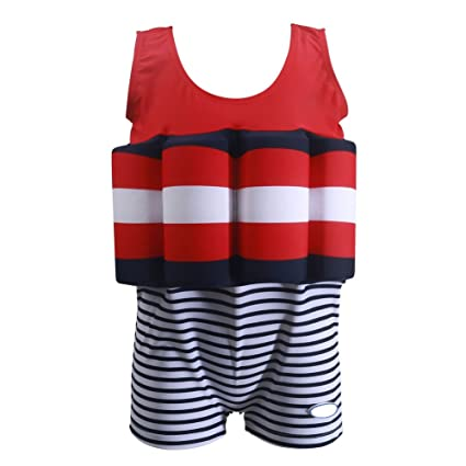 0acf1e7268aaf Image Unavailable. Image not available for. Color  Zerlar Boys Swimming  Float Suit with Adjustable Buoyancy Swimwear Swimsuit