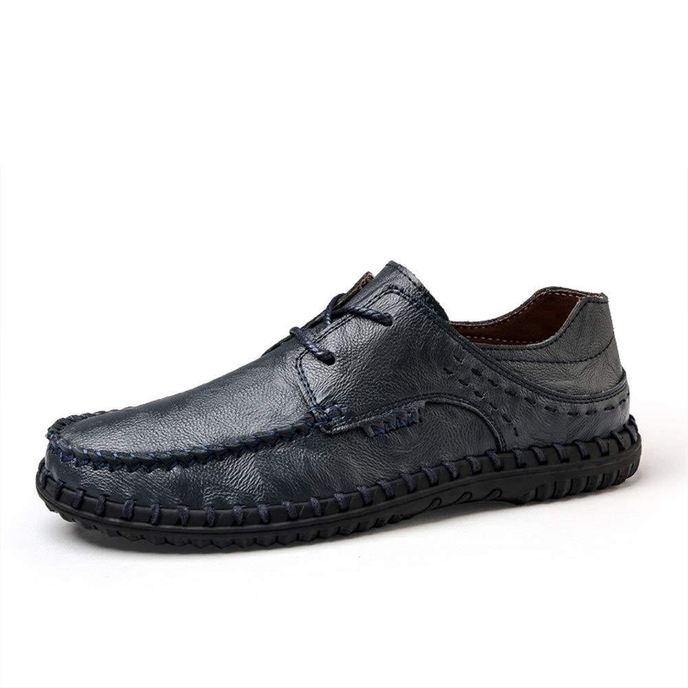 Qiming-MS Zapatos Oxford con Corbata para Hombre Penny Loafers ...