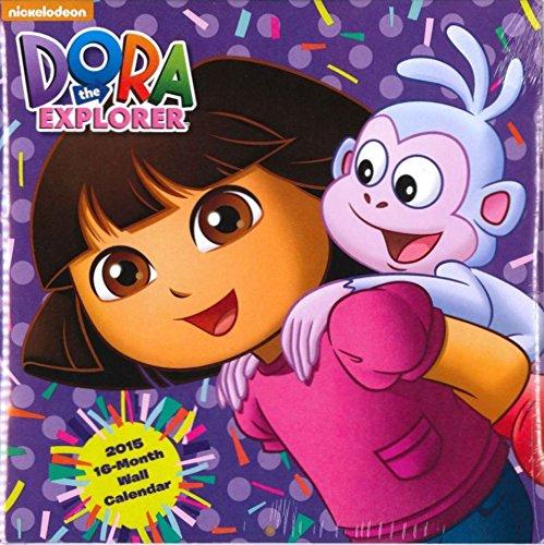 Dora the Explorer 2015 16-Month Wall Calendar ()