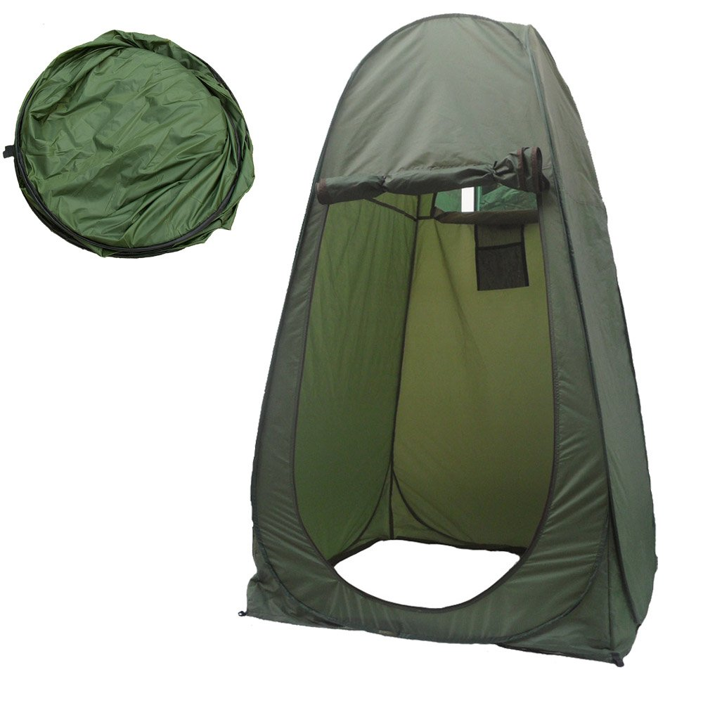 Merlilive Portable Changing Room Beach Toilet Camping Dressing Tent Outdoor Privacy Shelter