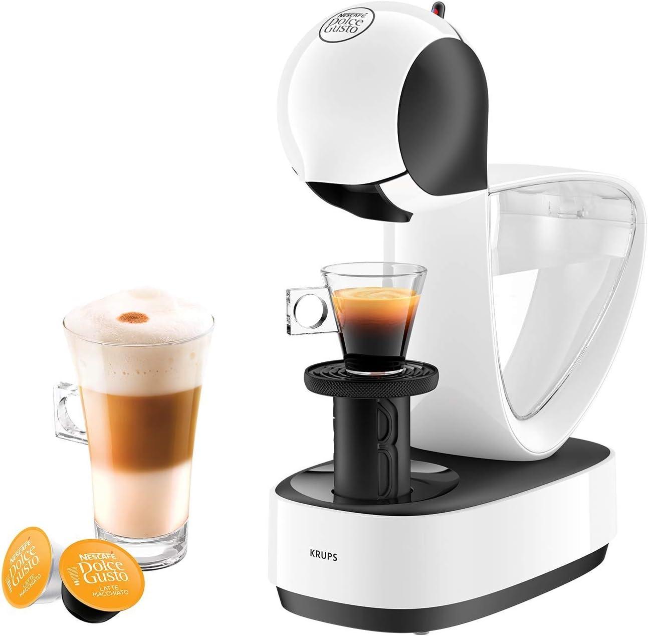 Nescafé Dolce Gusto Máquina de cápsulas de café blanco: Amazon.es: Hogar