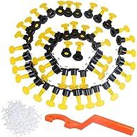 QLOUNI 50pcs Nivelador de Azulejo Reutilizables para la