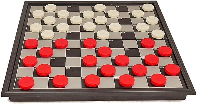 NuoEn Juego de Othello, Piezas magnéticas, Actividad de Viaje Reversi 64 Rejillas de descompresión Creativa Regalo de 2 diámetros: Amazon.es: Juguetes y juegos