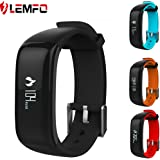 LEMFO P1 Fitness Tracker Heart Rate Blood Pressure Monitor Pedometer Waterproof Wristband