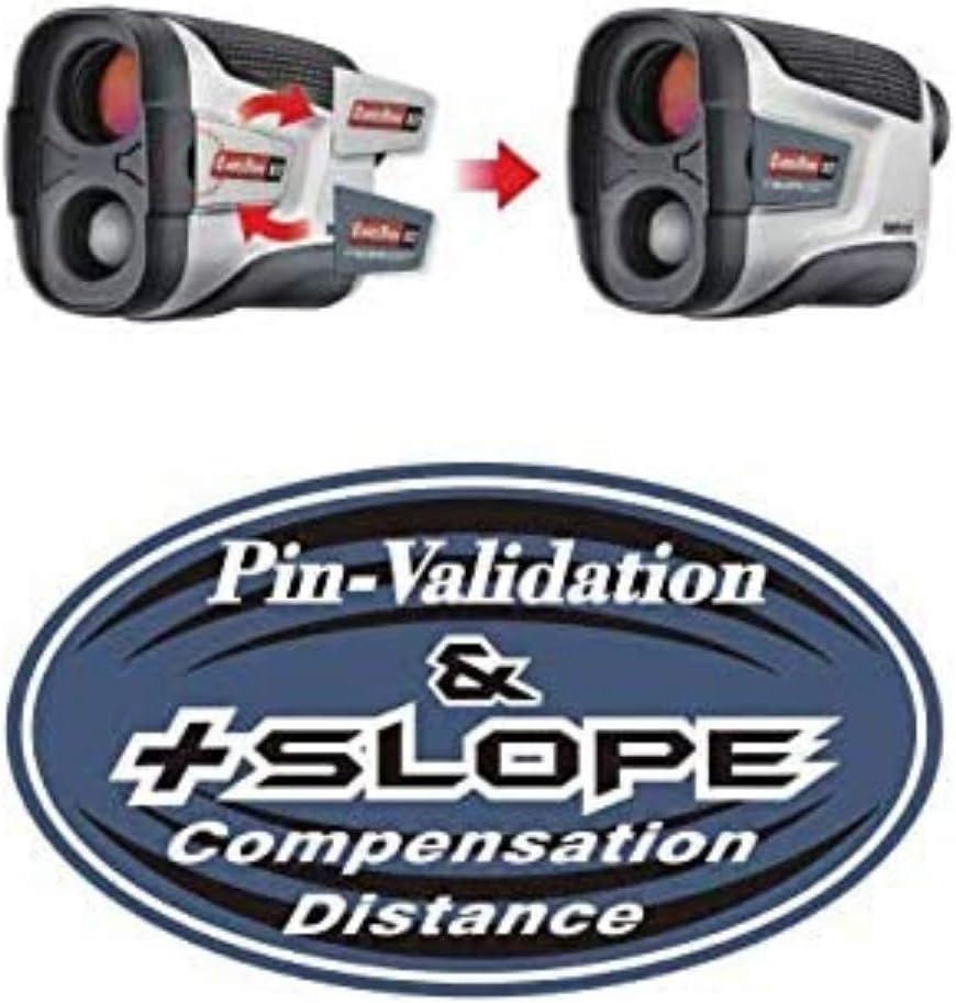 Caddytek Golf Laser Rangefinder with Slope and Pin-Validation Function, Silver (LRF-V2-JOLTSLOPE)