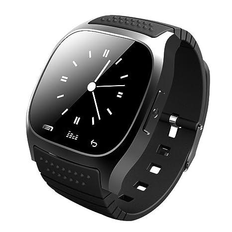Reloj inteligente con Bluetooth, Hinmay desbloqueado, teléfono celular con monitor de pasómetro, reloj