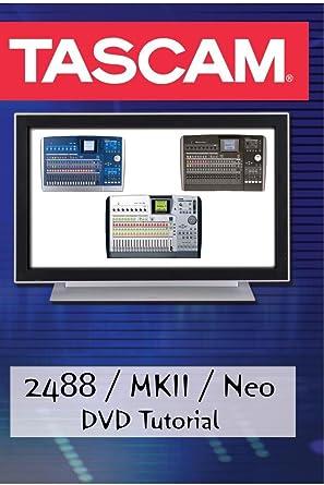 Tascam 2488 recording school demonstration video dvd help youtube.