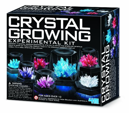 4M Crystal Growing Experiment (Fun 4 The Brain.com)