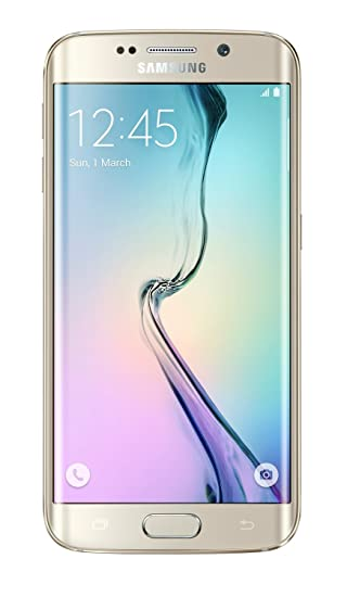 brand new 8b79d 70af5 Samsung Galaxy S6 Edge 32GB SIM-Free Smartphone - Gold (SM-G925F)  (Certified Refurbished)