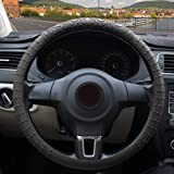 ZATOOTO Silicone Car Steering Wheel Cover – Cool Nonslip 3D Massage Hands 13 Inch - 16.5 Inch Ultra-Thin Light Weight Foldabl