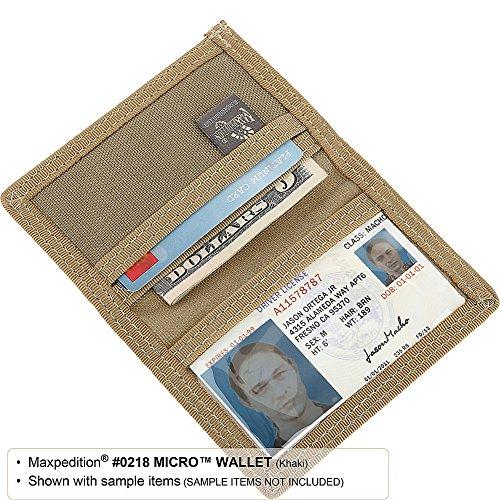 Micro Portefeuille Unique Taille Maxpedition Kaki qOwd5qR