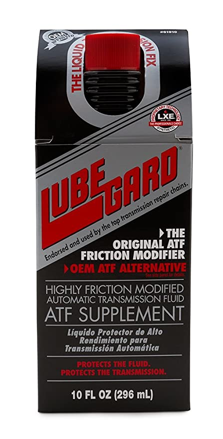 Lubegard 61910 Highly Friction Modified ATF Supplement, 10 oz