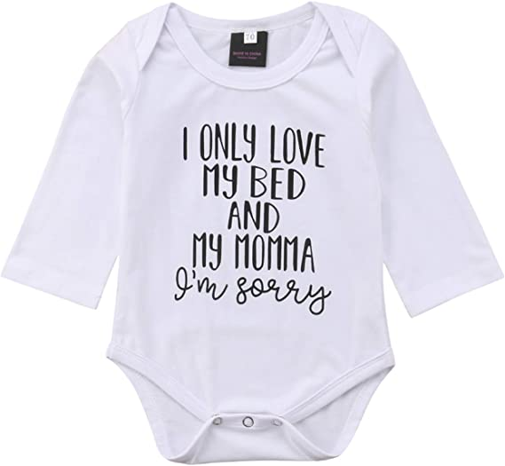 Newborn Infant Kids Baby Boy Girl Cotton Romper Bodysuit Outfits Clothes Costume