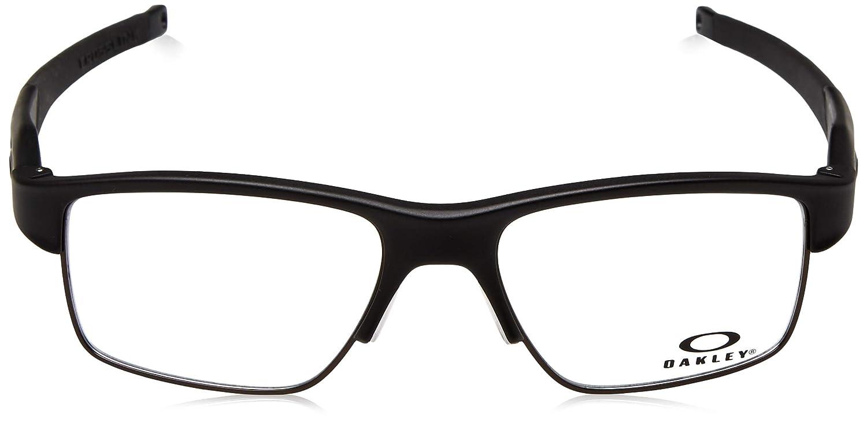 a068381d15 Oakley OX3128 Crosslink Switch Glasses in Satin Black OX3128 01 53  Oakley   Amazon.co.uk  Clothing