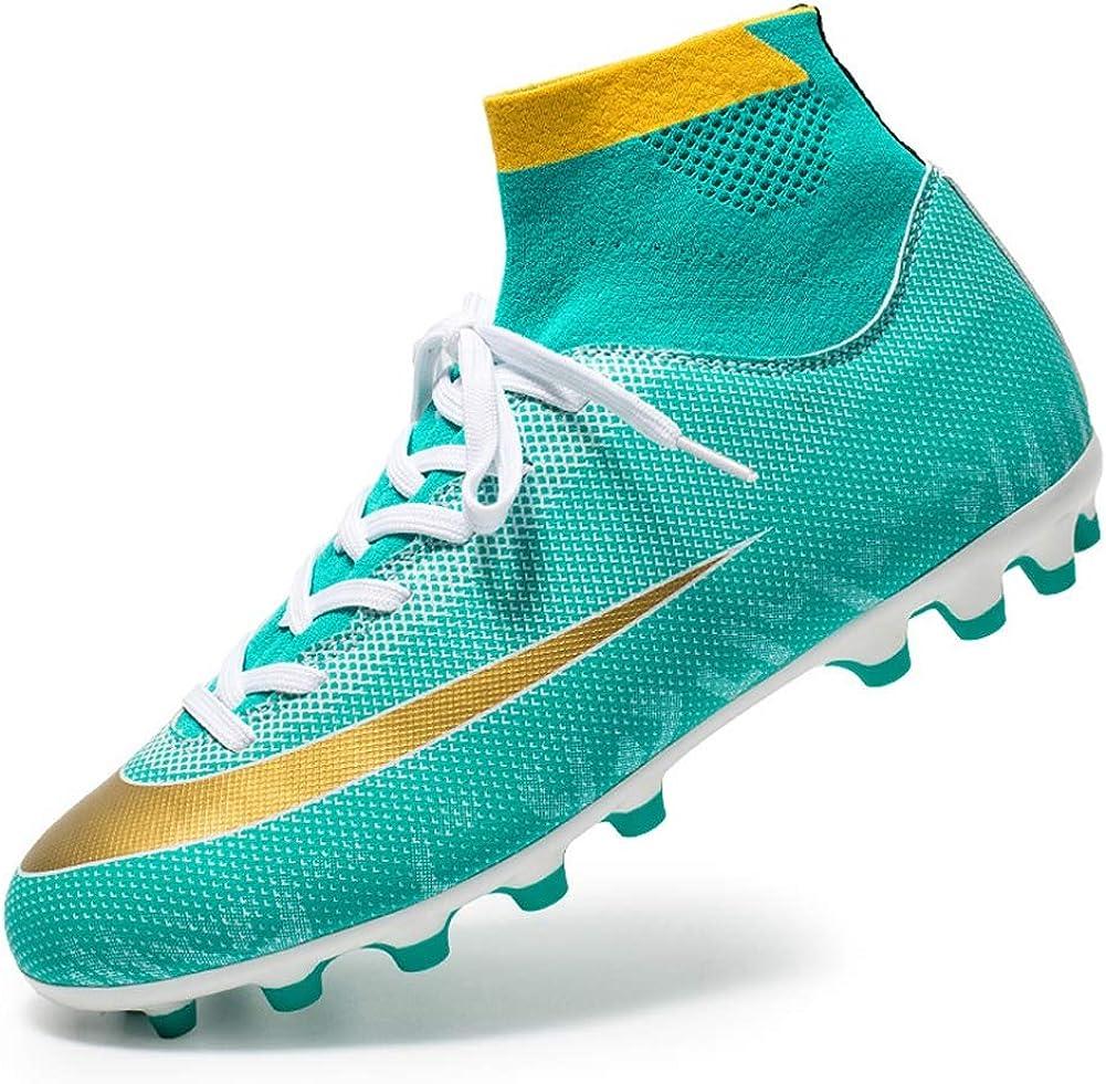 TAZAN Fußball Schuhe Herren Spikes Microfaser Cleats Beruf