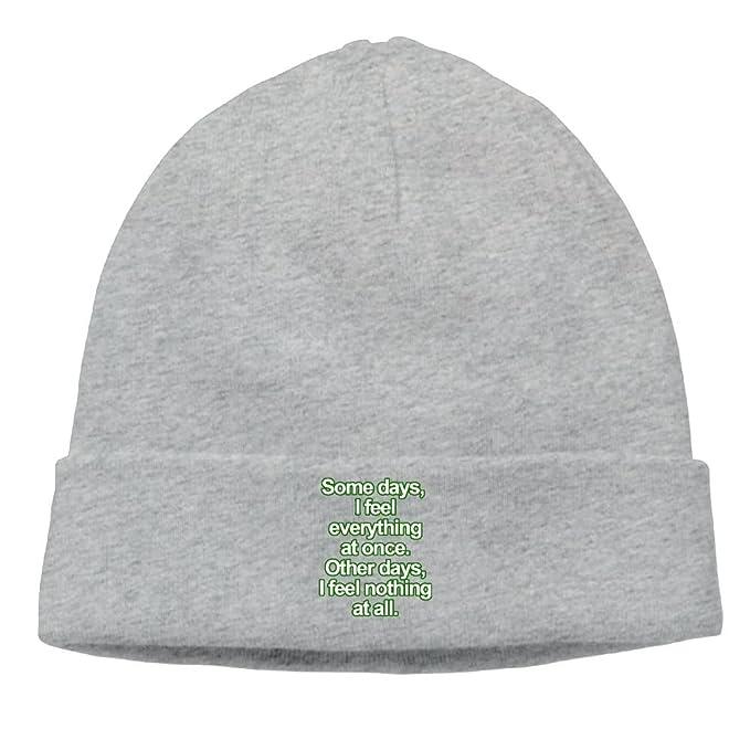 Unisex Fashion Life Sucks Quotes Wool Hat Watch Cap At Amazon Men's New Life Sucks Quote