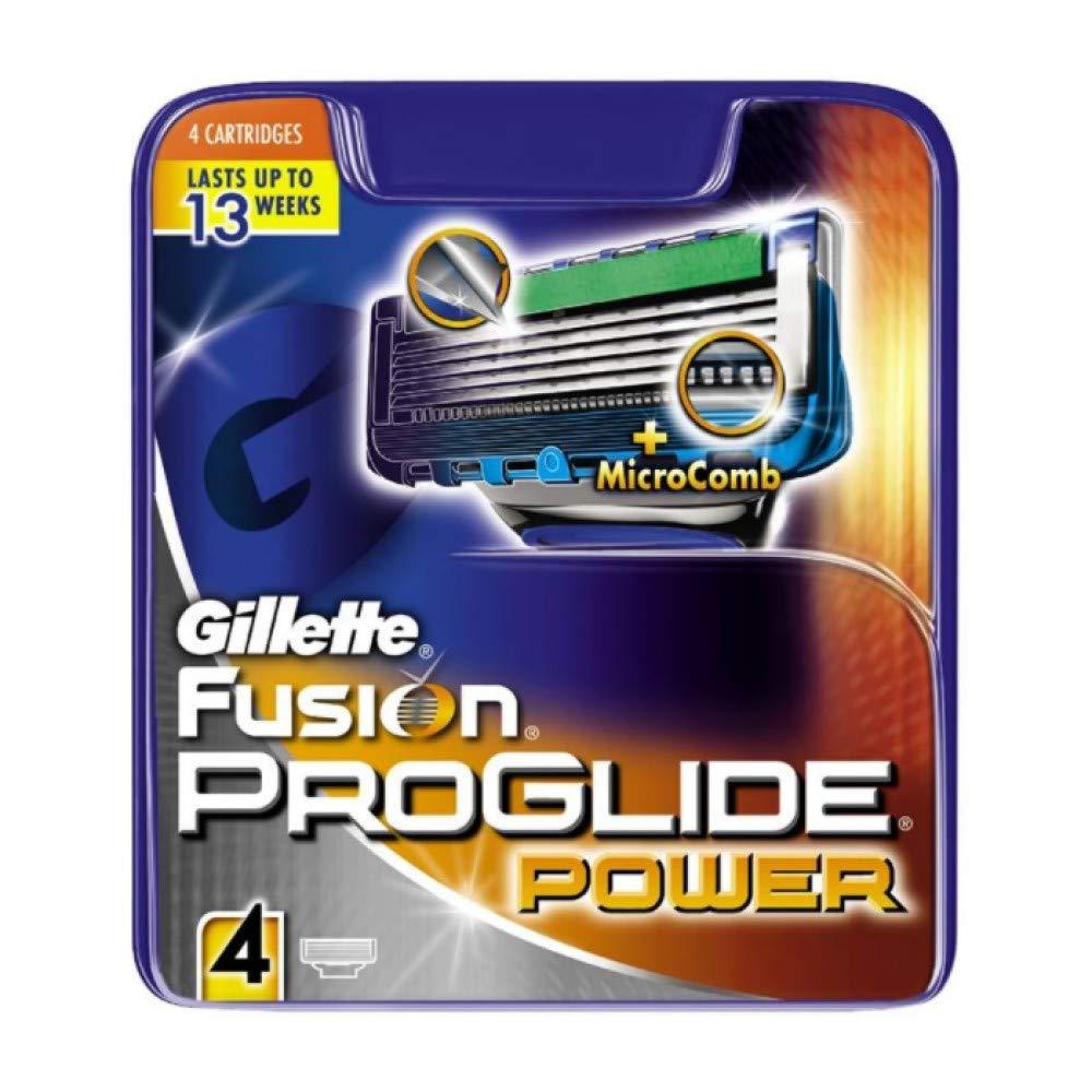 Gillette Fusion5 ProGlide Power Razor Blades for Men, 4 Refills product image
