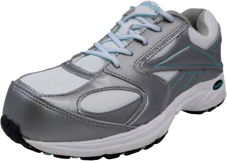 Reebok RB447 Women's Cross Trainer CT Shoe Silvery Grey Teal