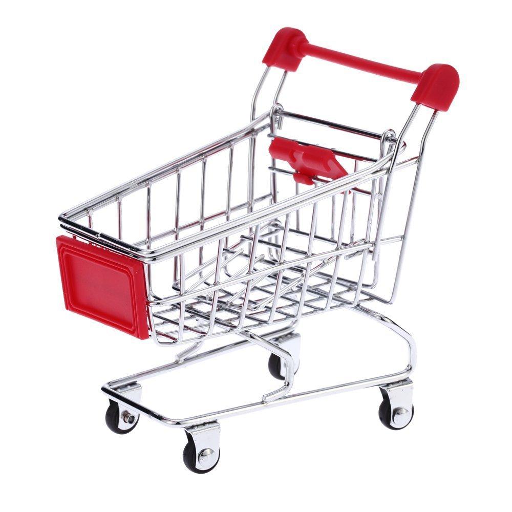 Métal Mini Shopping Cart chariot jouet pour animal domestique Oiseau Perroquet Conures inséparables de perruche calopsitte élégante Unbekannt